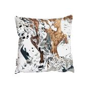 Bloomsbury Market, Traskwood Cushion with Filling (45X45CM) - RRP £29.99 (HOKG4741 - 21605/75) 1A