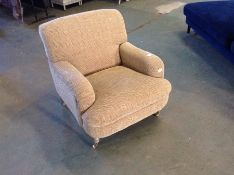 BEIGE ACCENT CHAIR (WM28-K288)