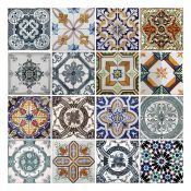 Latitude Vive, Alliance Mediterranean Tiles Wall Sticker (ROLLED UP) - RRP £27.99 (HVO70317 -