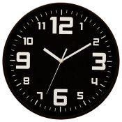 17 Stories, Kasota 30.5cm Silent Wall Clock (GREY) - RRP £19.99 (GCBR1054 - 21413/3) 2A