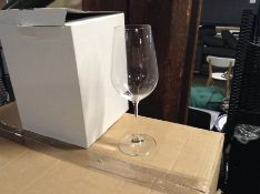 BOX OF APPROX 24 ACHICA LARGE WINE GLASSES
