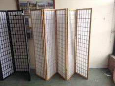 Seward 3 Panel Room Divider Number of Panels: 3 panels HL7 - 11/12HSTU1156.17694169 (DAMAGE)