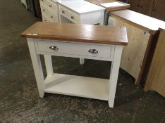 Chester White Painted Oak Hall Table (I54 -NC-CON-W)