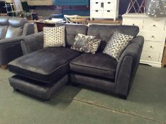 GREY SADDLE 3 SEATER CHAISE HH25-705054 - 9 3 (WRO