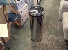 | 1x | Made.com Sensé Touch-free Sensor Bin 50L Stainless Steel RRP £49 | SKU MAD-BINSNS006ZCH-