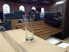 BOX OF APPROX 24 ACHICA PILZNER GLASSES (NOT CHECK