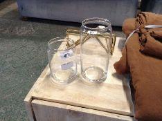 | 1x | Made.com Clover Acacia Set of 2 Wood Storage Jars Natural RRP £22 | SKU MAD-KACCLO019NAT-UK |