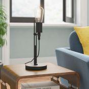 Williston Forge, Madson 40cm Table Lamp (MATTE BLACK) - RRP £81.99 (ROMI1384.25305339 - HL9 - 4/
