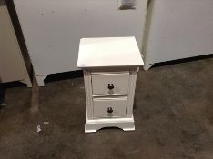 Banbury White Painted Small Bedside Table (CH-M57