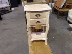 Lily Manor,Champetre 2 Drawer Bedside Table RRP -£