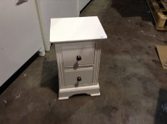 BANBURY WHITE PAINTED BEDSIDE (CHM-50A)