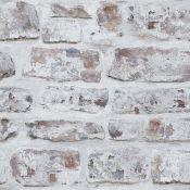East Urban Home, Whitewashed 10.05m L x 53cm W Roll Wallpaper - RRP £15.99 (ARHE1440.12521697 -