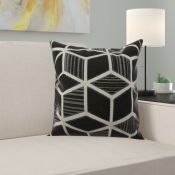Ebern Designs, Mordenhill Cushion with filling X2 (LARGE) - RRP £99.99 (YKFS1644.20878906 - HL9 -