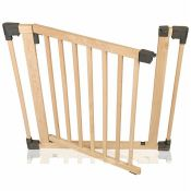 Symple Stuff, Wooden Multi Panel Safety Gate - RRP £32.33 (FRIG3554.36260197 - HL9 - 7/5) 1G
