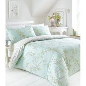 Lily Manor, Hallows Creek Duvet Cover Set (KING / DUCK EGG) - RRP £22.99 (AAIF1033.40039919 -