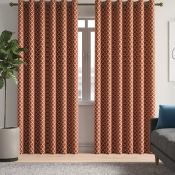 Zipcode Design, Judith Cotsworld Eyelet Room Darkening Curtains TEAL (117CM X 137CM) - RRP £32.85 (