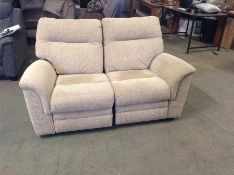 BISCUIT ELECTRIC RECLINING 2 SEATER TR002146 W0070