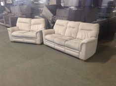 NATURAL 3 SEATER & 2 SEATER (SLIGHT WEAR) TR002149