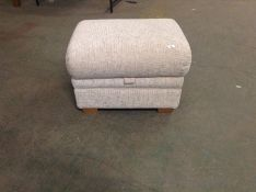 NATURAL PATTERNED STORAGE FOOT STOOL TR002149 W005