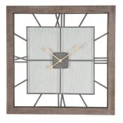 August Grove, Cornwall Square Wall Clock | - RRP £139.99 (PACH7814.24327352 - HL9 - 10/22) 3END
