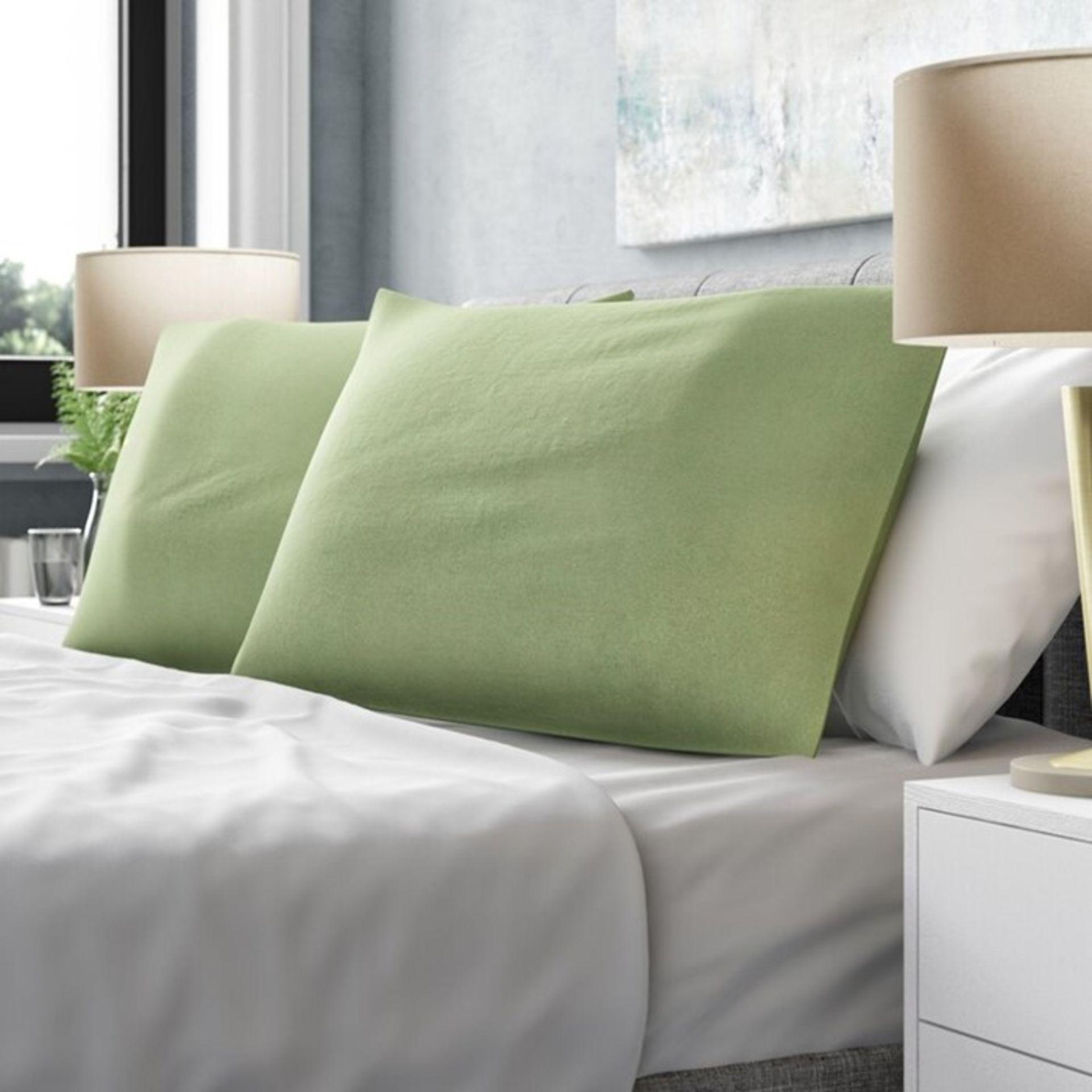 Symple Stuff, Housewife Pillowcase (SET OF 2 / APPLE) - RRP £9.98 (QVP2050.19353810 - HL9 - 5/80)