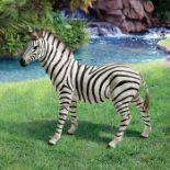 Design Toscano, Zora Zebra Statue (SLIGHTLY CHIPPED) - RRP£92.99 (DTSC1274 - 21458/2) 2A