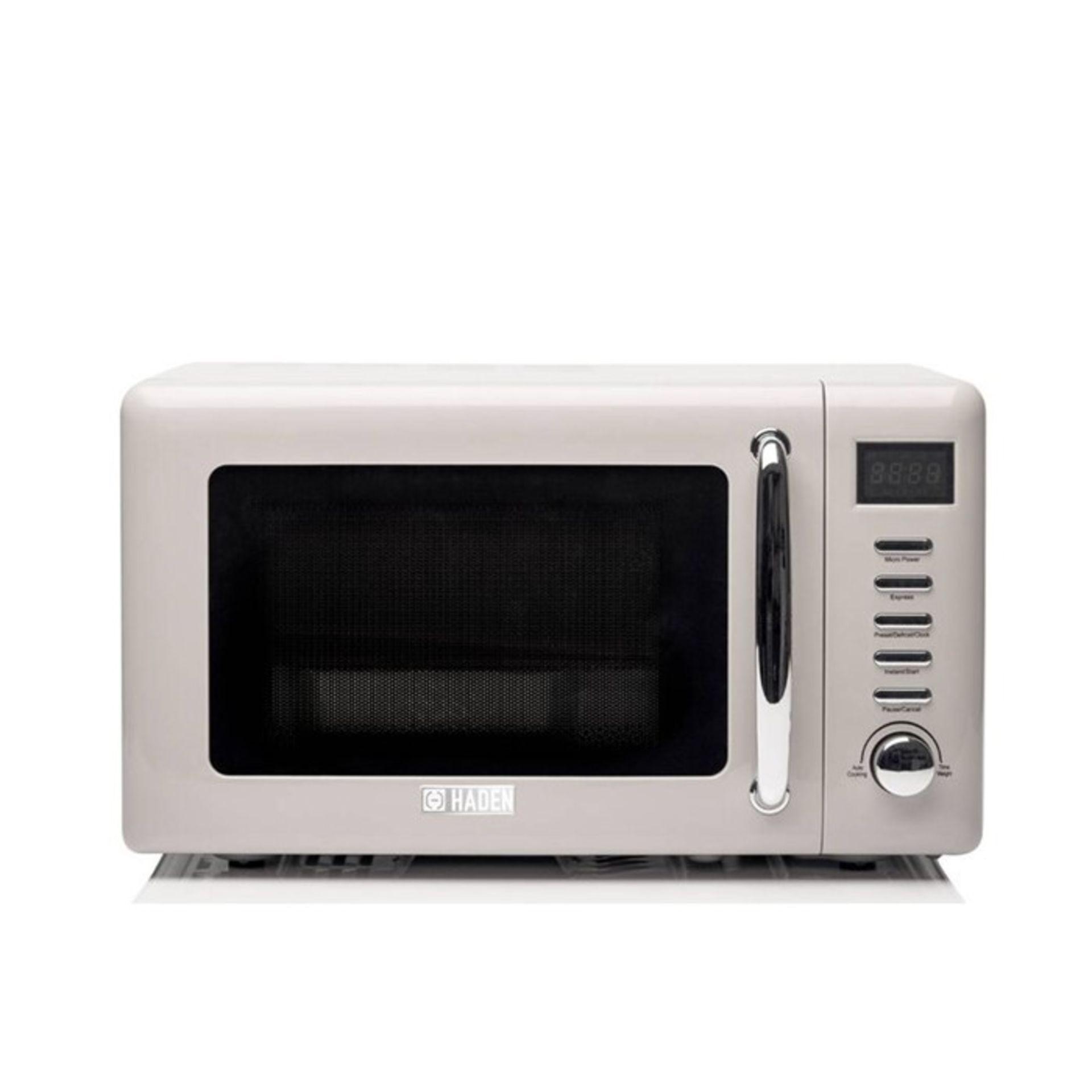 HADEN, Cotswold 20 L 800W Countertop Microwave - RRP£80 (HDEN1052 - 22262/6) 1J