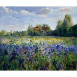 East Urban Home, Evening at the Iris Field by Timothy Easton Art Print (ROLLED UP) - RRP£21.99 (