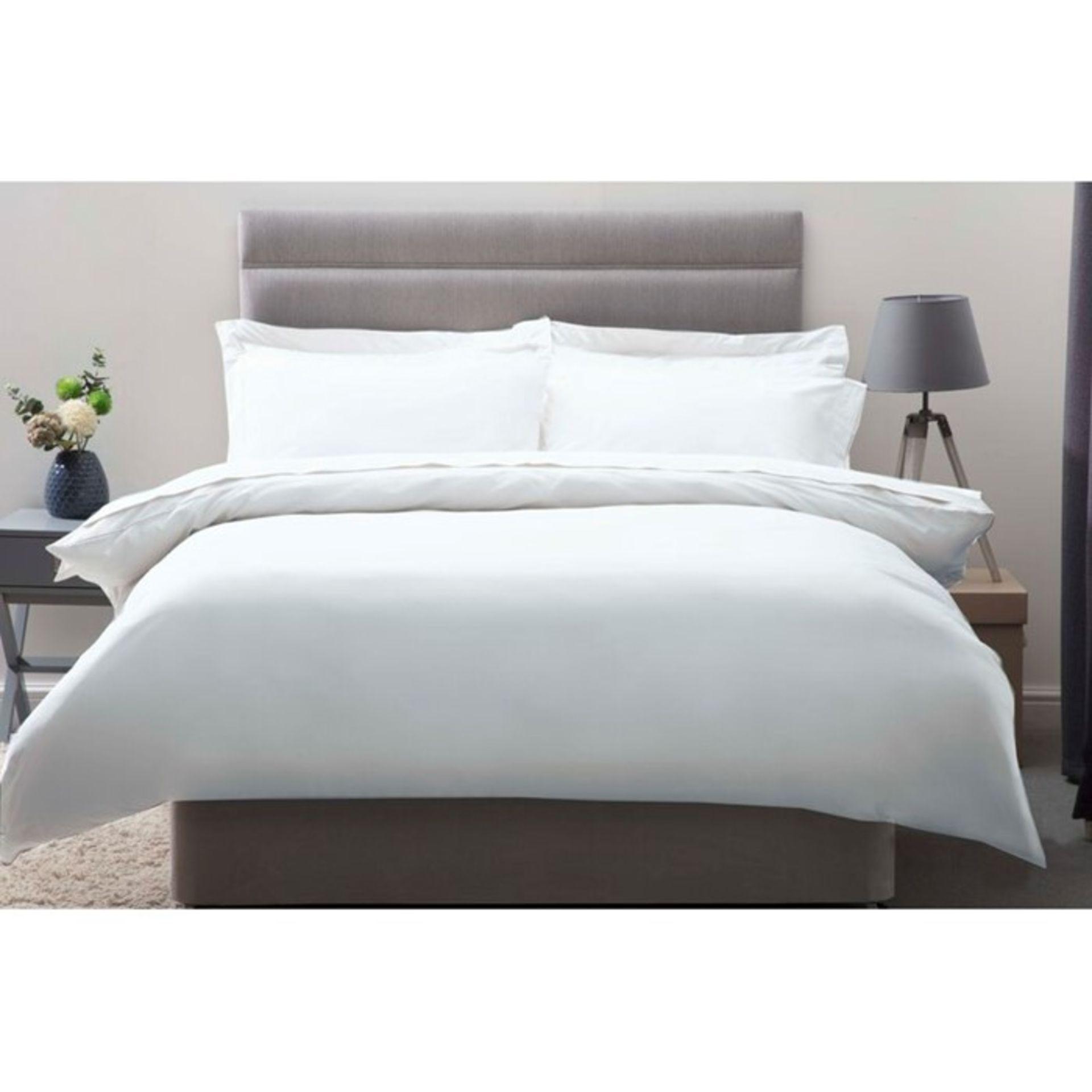 Belledorm, 450TC Pima Cotton Duvet Cover (290CM X 235CM / OYSTER) - RRP £91.69 (QVP1368.6450940 -