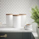Typhoon, Coffee, Tea & Sugar Jar Set - RRP£19.99 (LOZ1473 - 21458/32) 2D