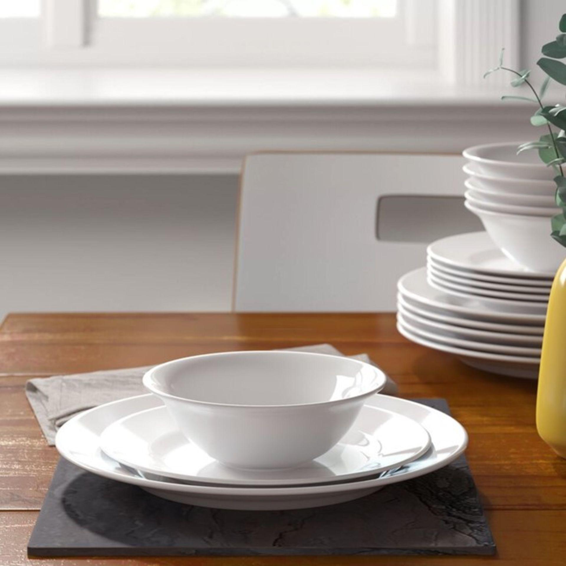 Zipcode Design, Duane 18 Piece Melamine Dinnerware Set, Service for 6 - RRP£24.99 (HJE10018 -