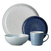 Denby, Studio 16 Piece Dinnerware Set, Service for 4 - RRP£155.99 (CBKQ1230 - 21729/3) 1E