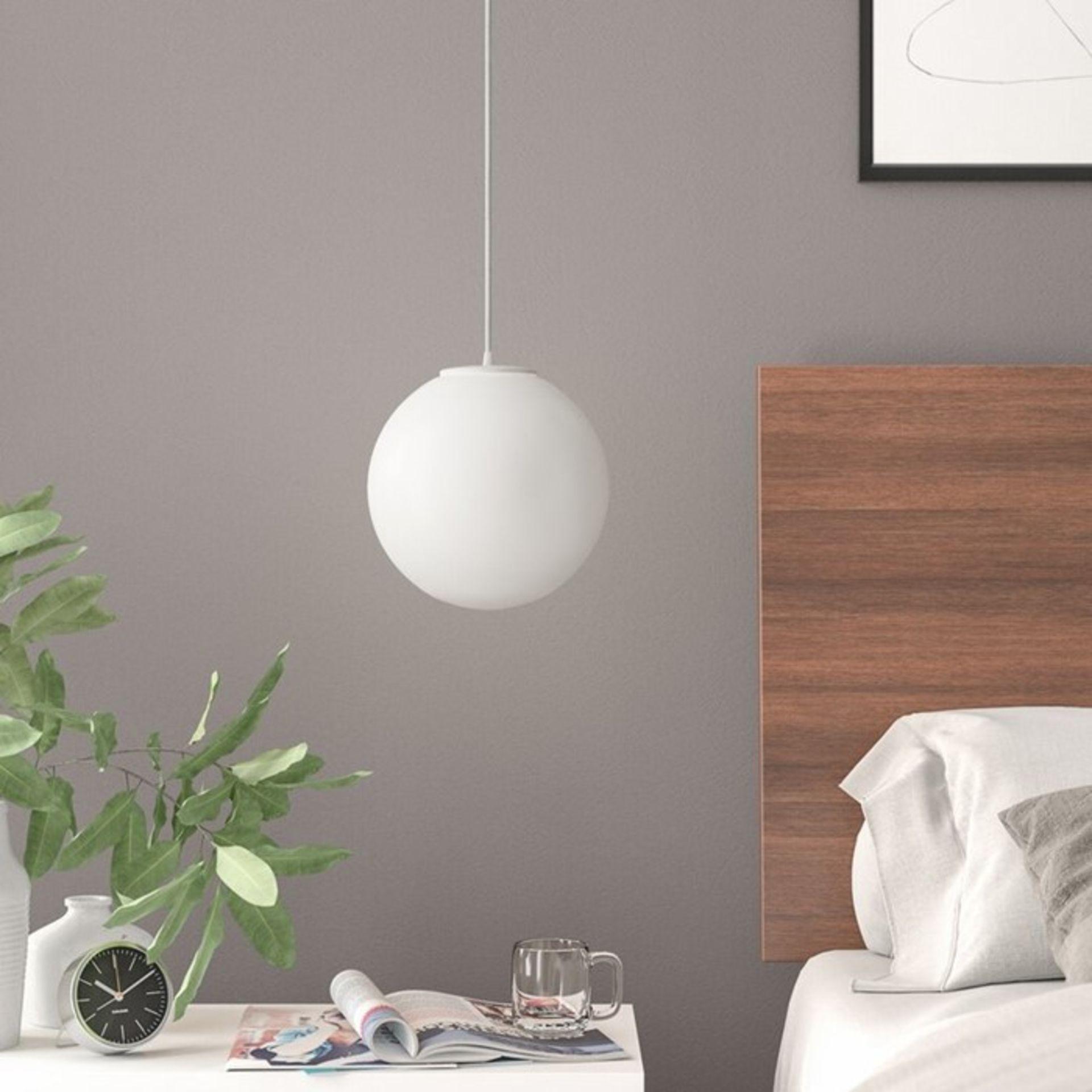 Fjørde & Co, Dennik 1-Light Globe Pendant (BLACK) - RRP £62.82 (SOTT1315 - 12334/15) 6E