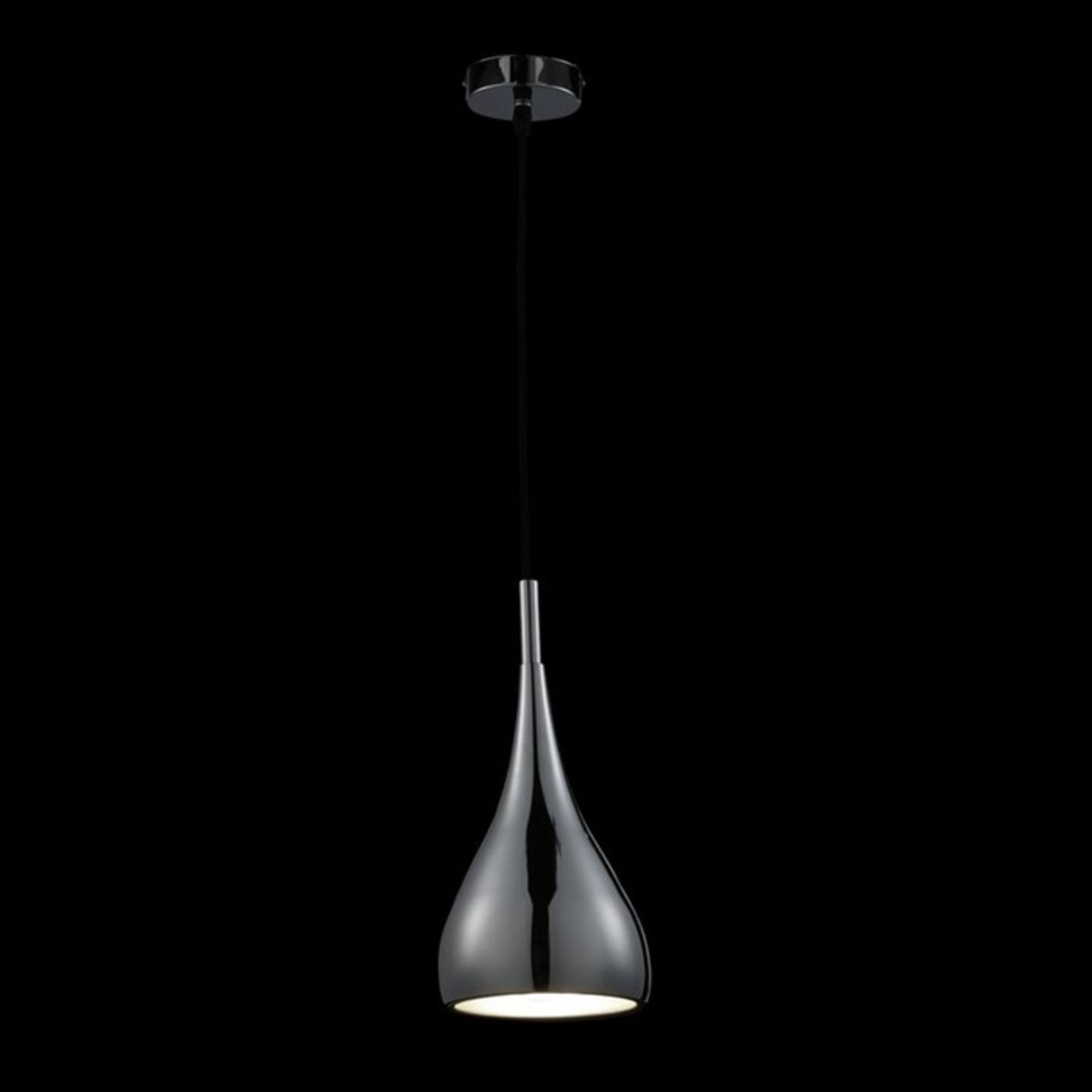 Wrought Studio, Heider 1-Light Teardrop Pendant - RRP £92.49 (NAVE4258 - 13943/30) 7D
