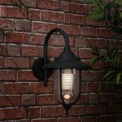 MiniSun, Eyam Swan Neck 1 Light Outdoor Wall Lantern - RRP£26.99 (MSUN2713 - 15630/6) 7F