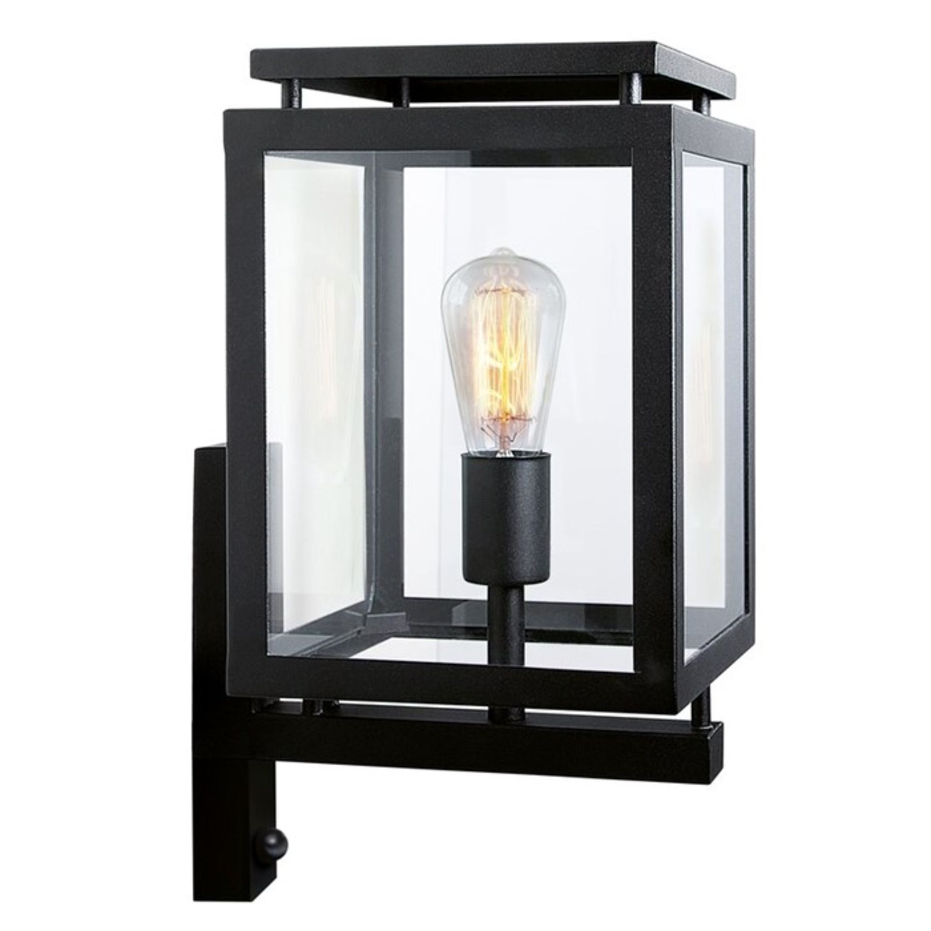 dCor design, De Vecht Outdoor Wall Lantern with PIR Sensor - RRP £196.99 (DCOO3989 - 13943/27) 7G