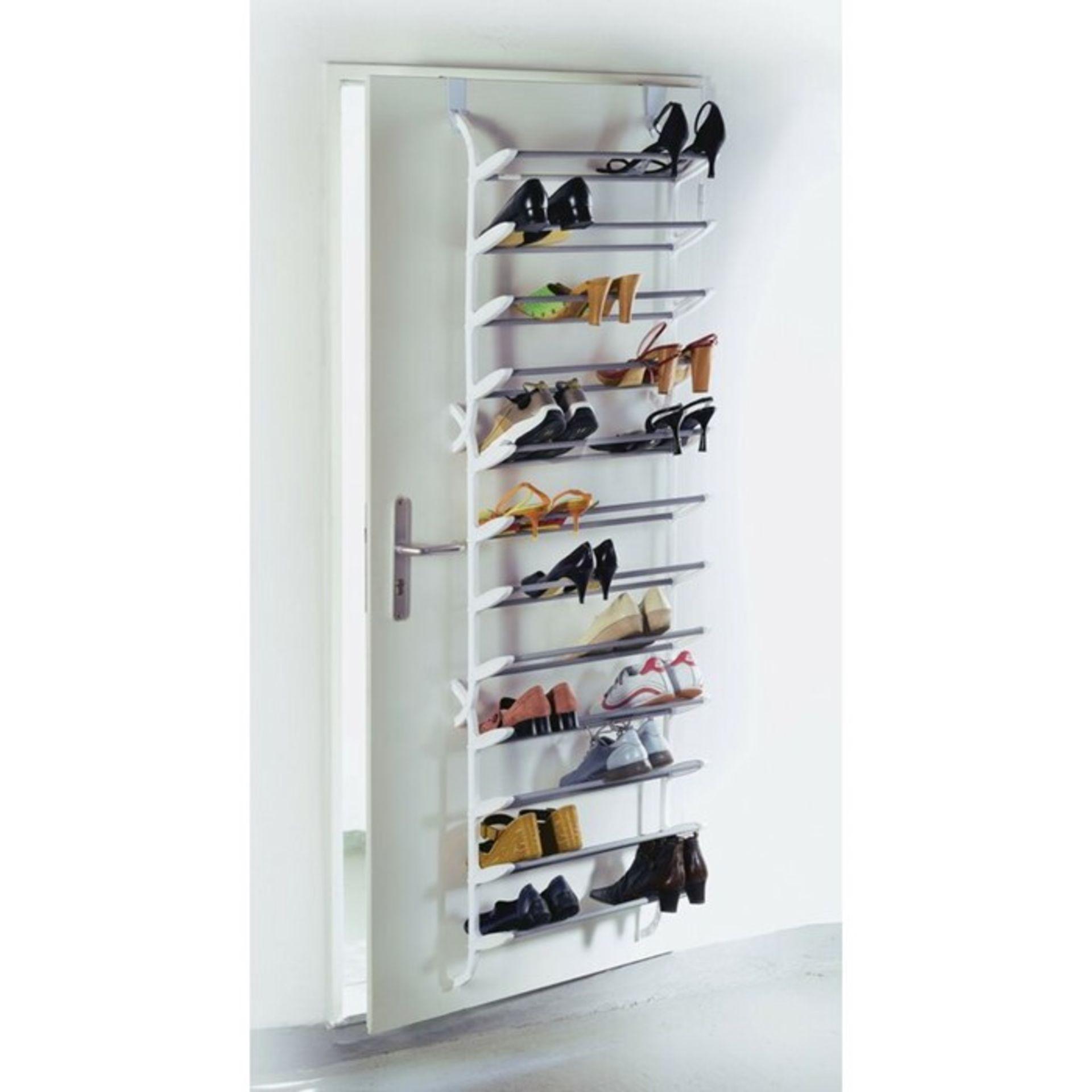Symple Stuff, 36 Pair Overdoor Shoe Organiser - RRP £29.53 (PUDA1076 - 21629/20) 4G