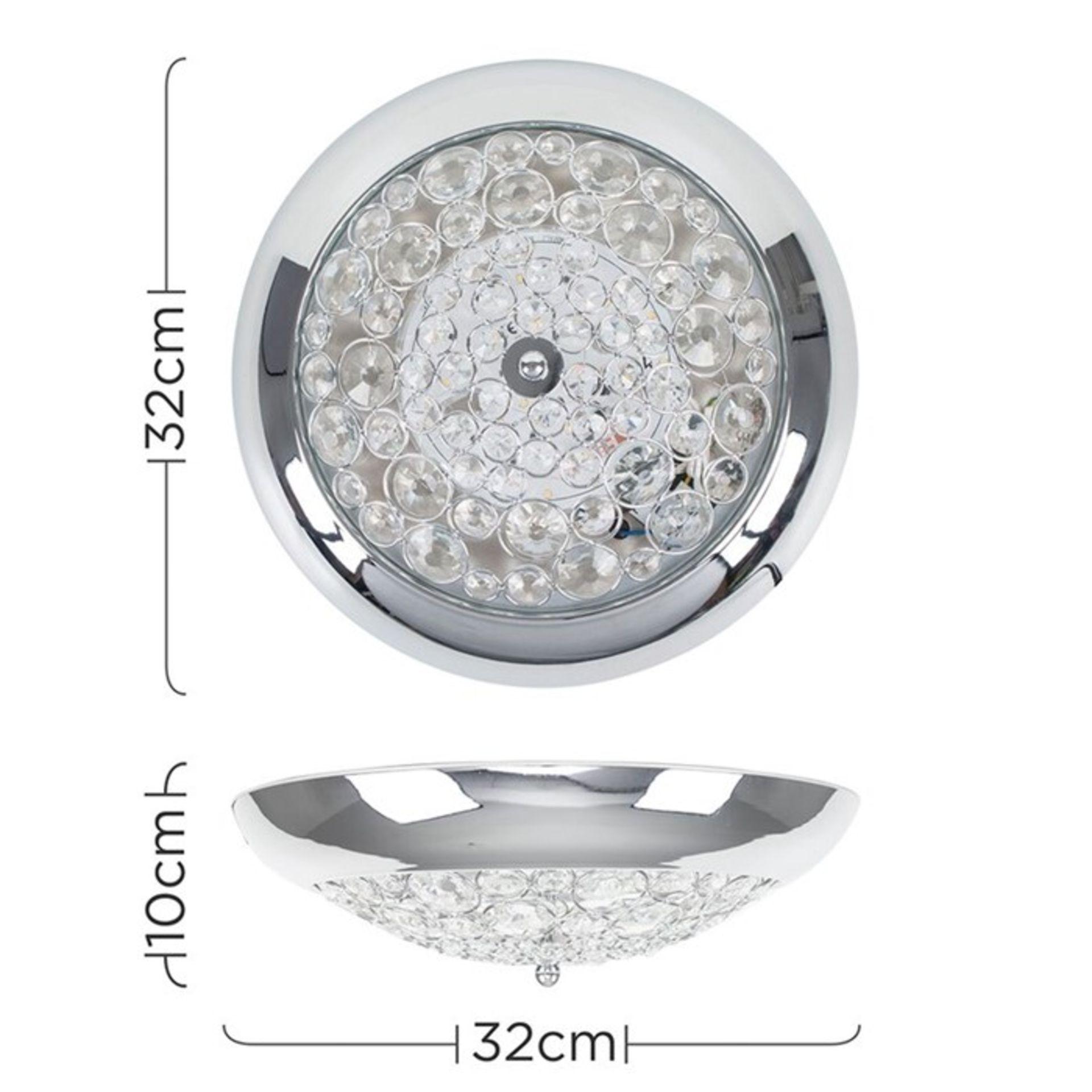 Symple Stuff, Altro 1-Light LED Flush Mount - RRP£26.99 (MSUN5157 - 15630/28) 7E