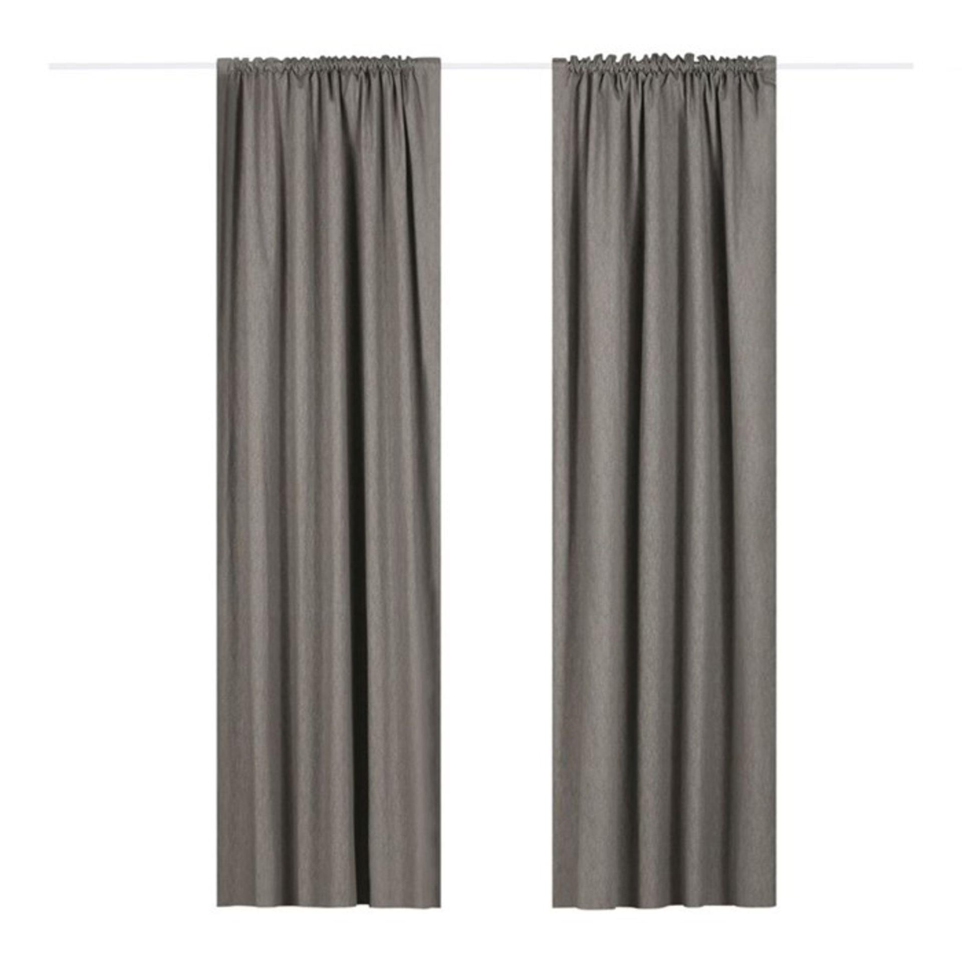 Marlow Home Co., Coleraine Pencil Pleat Blackout Thermal Curtains (117CM X 183CM / OCHRE) - RRP £