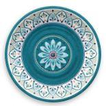 Tar Hong, Moroccan Medallion 27cm Melamine Dinner Plate X4 - RRP £12.99 (QEFF1068 - 21629/29) 4G