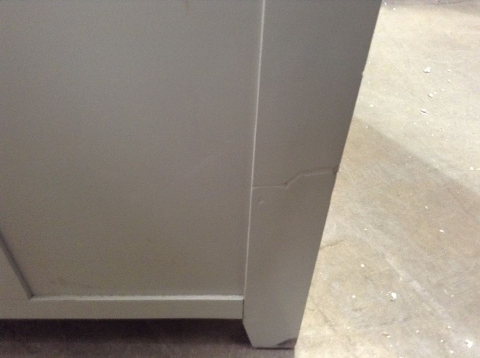 Hampshire Grey Large Larder Unit (CH-N24 -LARL-PBLUE) - Image 3 of 3