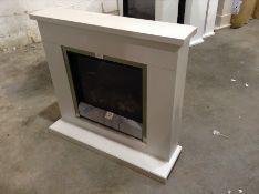 BeModern,Elsham Electric Fire Suite RRP -429.99 (21259/2 -BEMO1043)(l 102cm x d 30cm x h 93cm