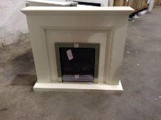 BeModern,Westcroft Electric Fireplace RRP -559.99 (21259/4 -BEMO1022) l122cm x d 30cm x h108cm)