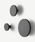 | 1x|Made.com MADE Essentials Apartment Set of 3 Wall Hooks Matt Black (USED) RRP £25MAD-