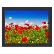 East Urban Home, Poppy Meadow' Canvas (30X38CM) - RRP £33.99 (EUCR8223 - 21356/3) 1C