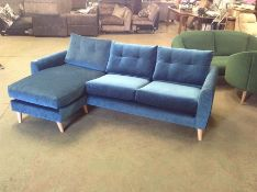 DYLAN VICTORIA TEAL LHF CHAISE UNIT (SFL1240 -S523