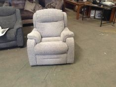 GREY MANUAL RECLINING CHAIR TR002146 W00858145