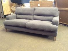 GREY FABRIC 3 SEATER SOFA TR002143-W00784673