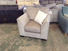 BEIGE FABRIC CHAIR HH33-711559-16