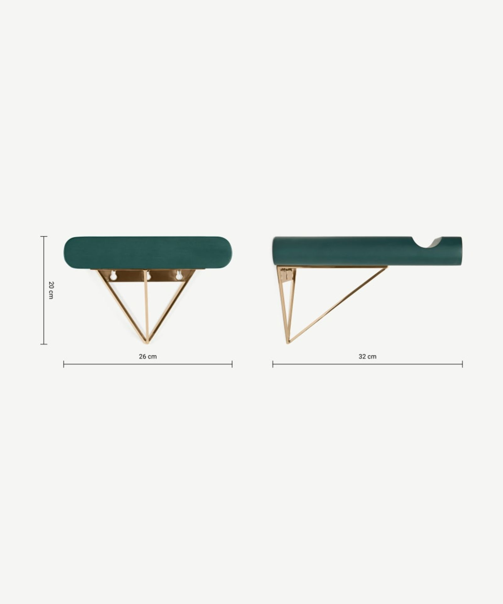 | 1x | Made.com Dayde Bike Stand Teal RRP £45 | SKU MAD-ACCDAY005GRE-UK | RAW | RRP £45 | TOTAL - Image 2 of 2